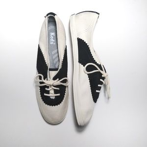 Keds saddle shoe sneakers
